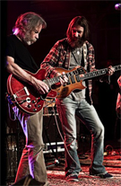 Bob Weir and Chris Robinson perform for Seva