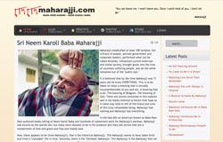 Current Web site of Neem Karoli Baba Maharajji